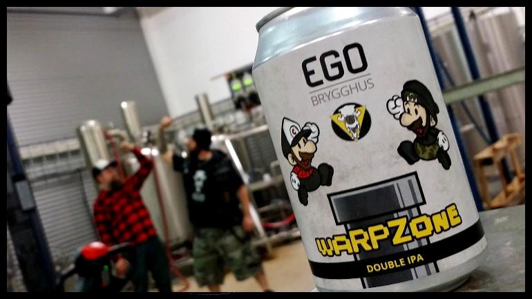 WarpZone – collab med Ego Brygghus (Dobbel NEIPA)