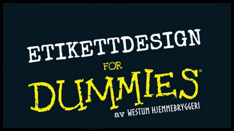 Etikettdesign for Dummies
