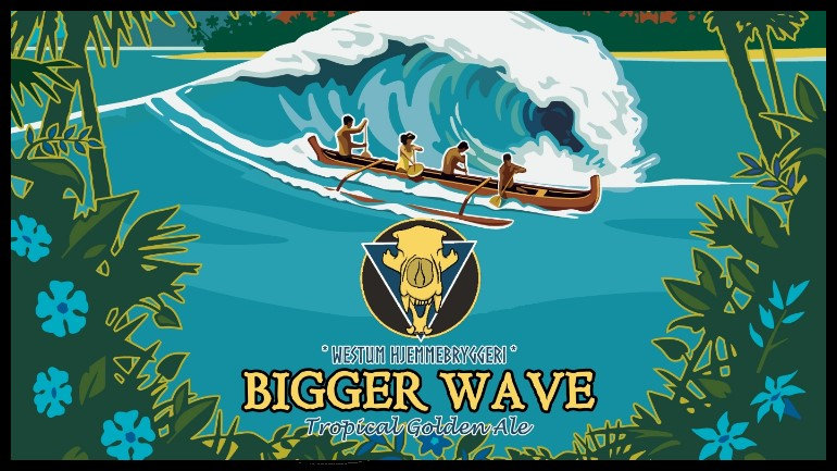Bigger Wave (Tropical Golden Ale)