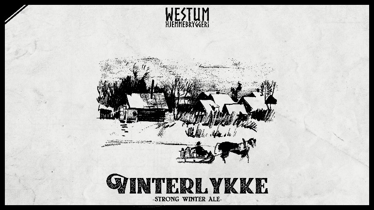 Vinterlykke 2018 (Strong Winter Ale)